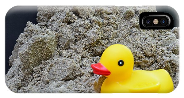 Sand Pile And Ducky IPhone Case