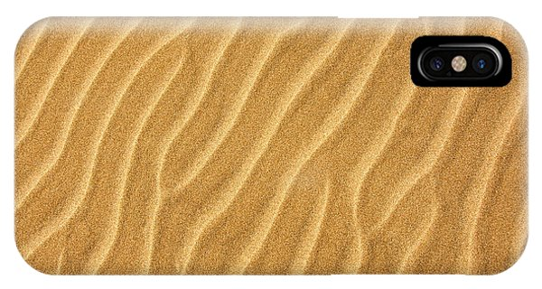Sand iPhone Case - Sand Ripples Abstract by Elena Elisseeva
