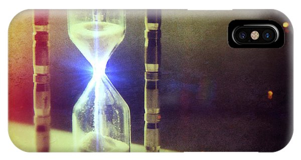 Sand Through Hourglass IPhone Case