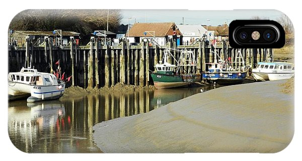 Sandbanks And Boats Phone Case by Sharon Lisa Clarke