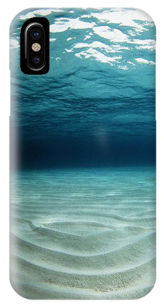 Sea Floor iPhone Case - Sandy Sea Floor by Georgette Douwma