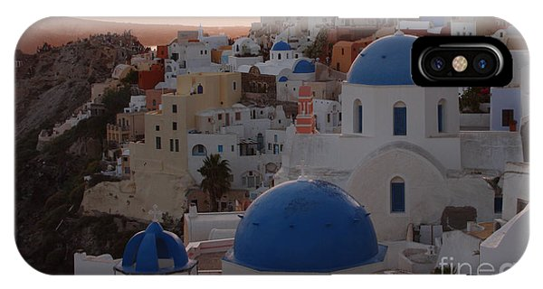 Santorini IPhone Case
