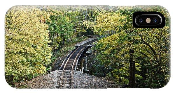 Scenic Railway Tracks IPhone Case