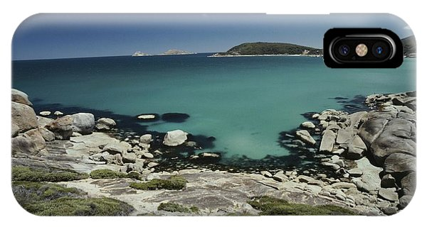 Wilsons Promontory iPhone Case - Scenic View Of A Bay At Wilsons by Jason Edwards
