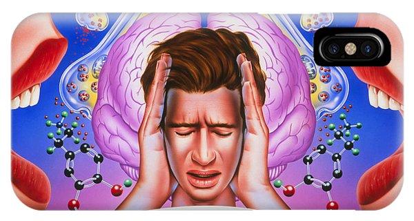 Schizophrenia Phone Case by John Bavosi