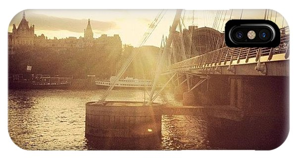 London Bridge iPhone Case - SE1 by Josh Cowls