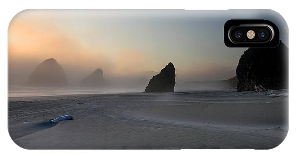 Oregon Sand Dunes iPhone Case - Sea Stacks At Sunset by Pierre Leclerc Photography
