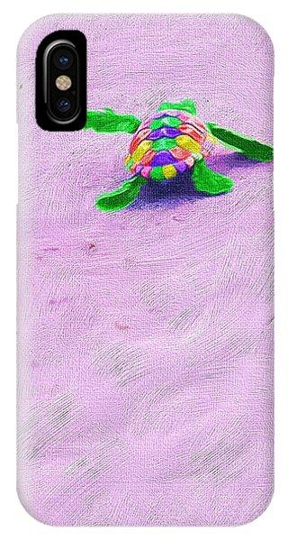 Sea Turtle Escape IPhone Case
