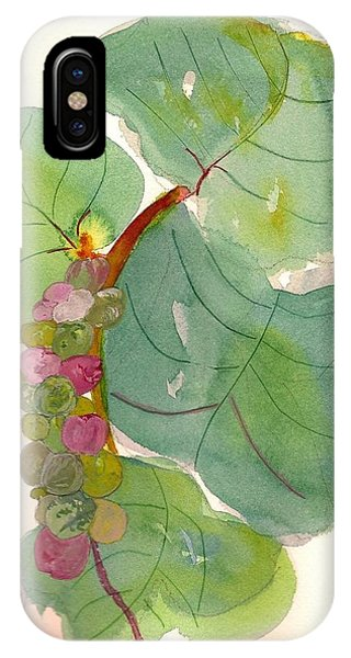 Seagrapes IPhone Case