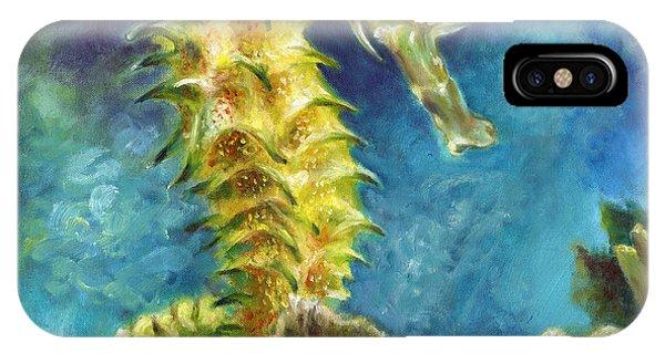 Seahorse I IPhone Case