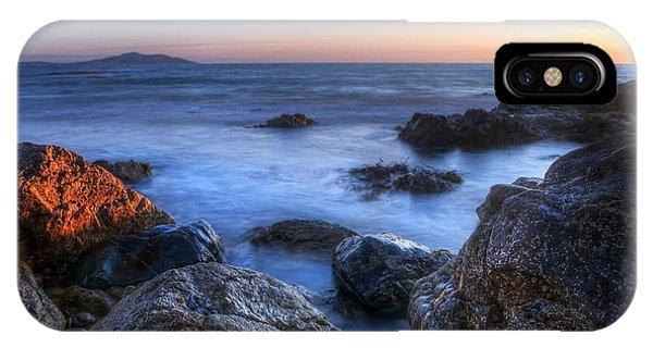 Seaside Rocks IPhone Case