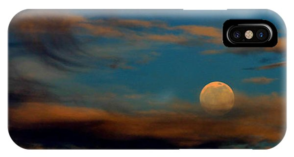 IPhone Case featuring the photograph Second Full Moon 2012 by Ola Allen