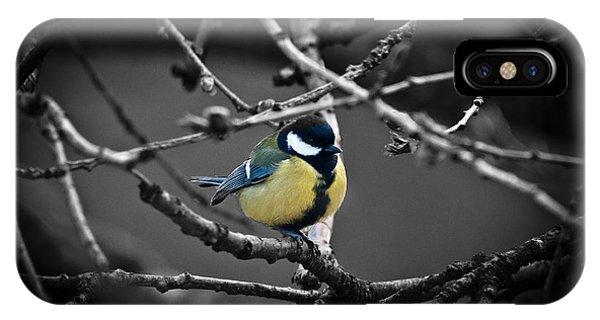 Selective Bird IPhone Case