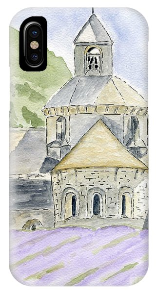 Senanque Abbey Provence IPhone Case