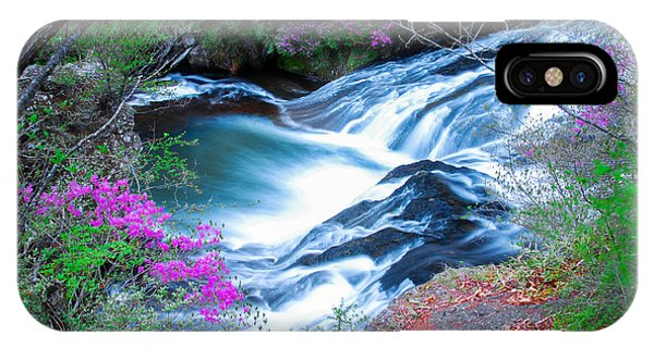 Serenity Flowing IPhone Case
