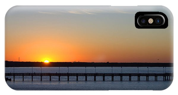 Setting Sun Phone Case by Arthur Herold Jr