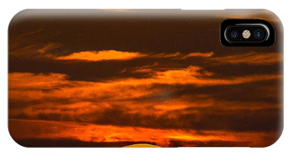 Setting Sun Flyby IPhone Case