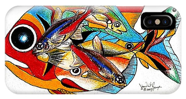 Seven Fish IPhone Case