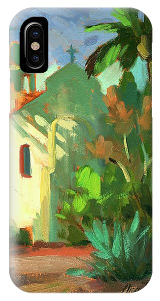 Lutheran iPhone Case - Shadows At St. Richard's by Diane McClary