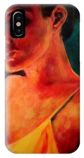 Shandra In Yellow IPhone Case
