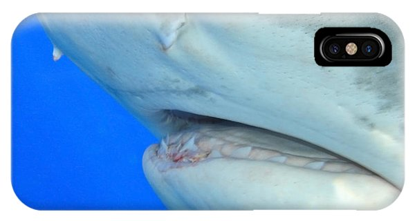 Shark Up Close And Personal IPhone Case