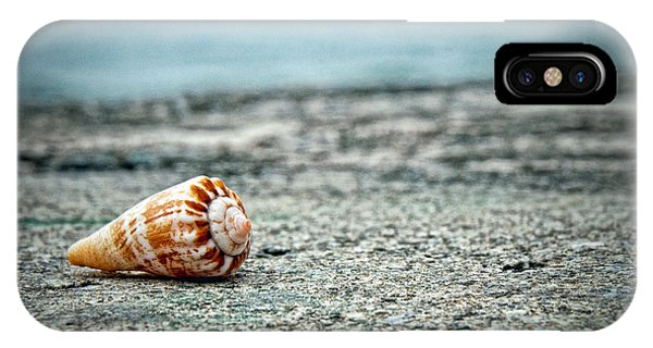 IPhone Case featuring the photograph Shell by Ryan Wyckoff