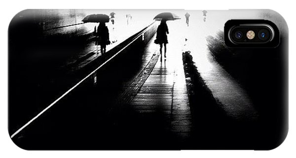 Igersoftheday iPhone Case - She's Into Rain by Robbert Ter Weijden