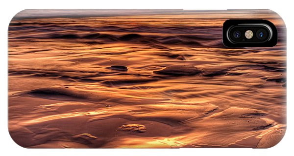 Shifting Sand And Shoreline Phone Case by Donna Pagakis
