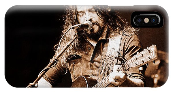 Shooter Jennings - Blurring The Lines IPhone Case
