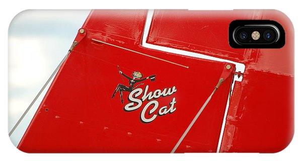 Show Cat IPhone Case