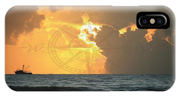 Shrimp Boast Sunrise II IPhone Case