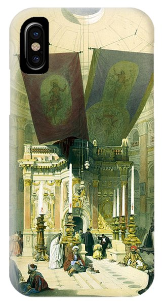 Shrine Of The Holy Sepulchre April 10th 1839 IPhone Case