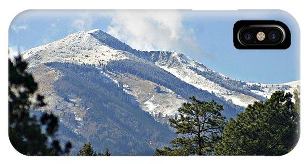 Sierra Blanca Clouds 3 IPhone Case