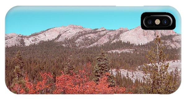 Sierra Nevada iPhone Case - Sierra Nevada Mountain by Naxart Studio