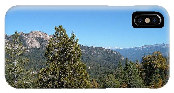 Sierra Nevada iPhone Case - Sierra Nevada Mountains 2 by Naxart Studio