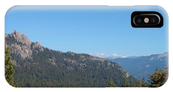 Sierra Nevada iPhone Case - Sierra Nevada Mountains 3 by Naxart Studio