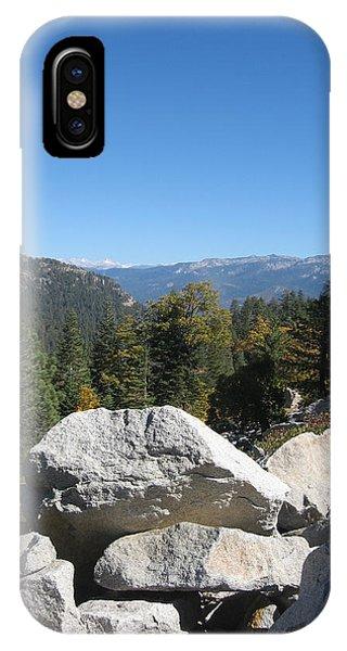 Sierra Nevada iPhone Case - Sierra Nevada Mountains 4 by Naxart Studio