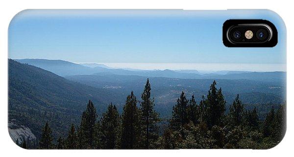 Sierra Nevada iPhone Case - Sierra Nevada Mountains by Naxart Studio