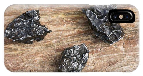 Sikhote-alin Meteorite Fragments Phone Case by Dirk Wiersma