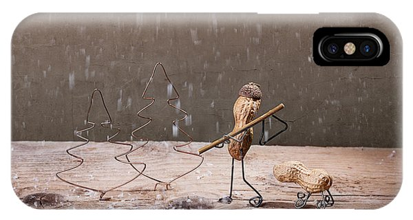 Xmas iPhone Case - Simple Things - Christmas 04 by Nailia Schwarz