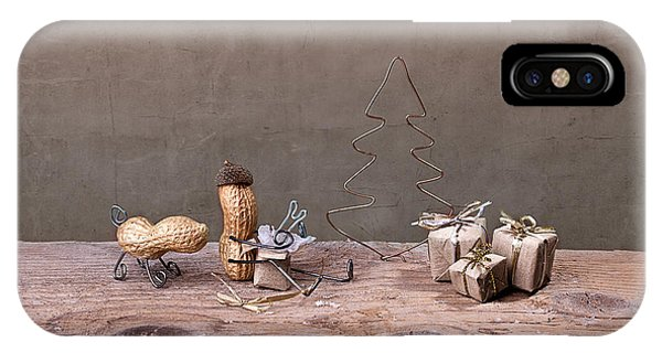 Xmas iPhone Case - Simple Things - Christmas 06 by Nailia Schwarz