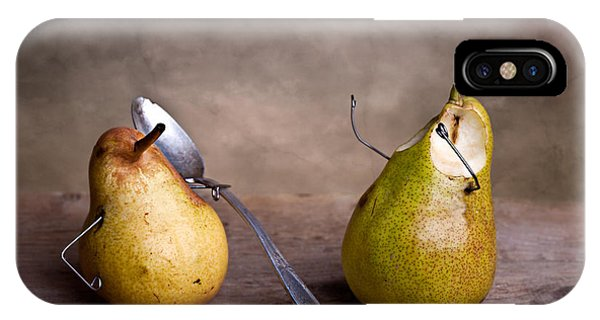 Pear iPhone Case - Simple Things 15 by Nailia Schwarz