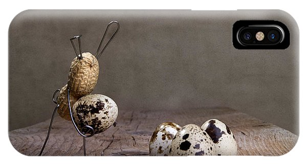 Eggs iPhone Case - Simple Things Easter 03 by Nailia Schwarz