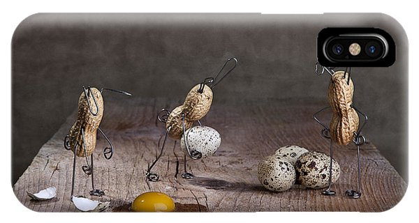 Eggs iPhone Case - Simple Things Easter 06 by Nailia Schwarz