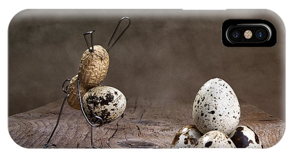 Eggs iPhone Case - Simple Things Easter 07 by Nailia Schwarz