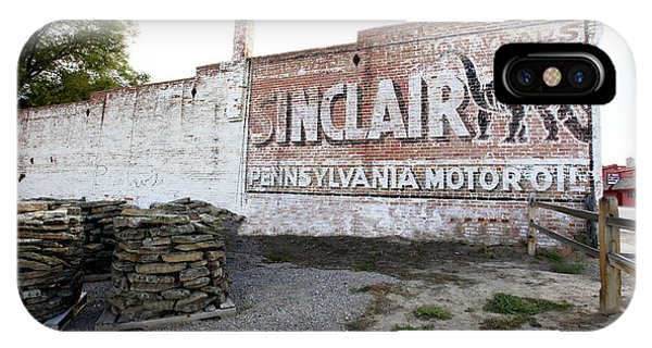 Sinclair Motor Oil IPhone Case