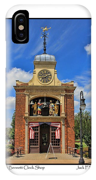 Sir John Bennett Clock Shop IPhone Case