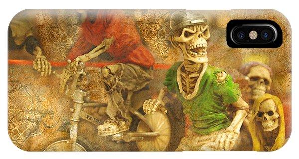 Skeleton Crew IPhone Case