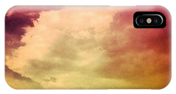 Edit iPhone Case - #sky #cary #colourful #clouds ☁ by Katie Williams