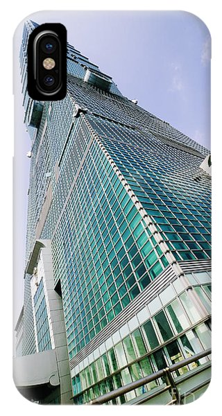 Skyscraper, Taipei 101 Building Phone Case by Jeremy Woodhouse